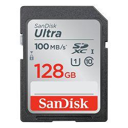 SanDisk Memorijska kartica SDSDUNR-128G-GN3IN SanDisk Ultra 128GB SDXC  Memory Card 100MB/s, Class 10 UHS-I