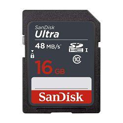 SanDisk Memorijska kartica SDSDUNS-016G-GN3IN SanDisk Ultra 16GB SDHC Memory Card 80MB/s