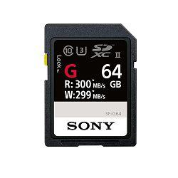 SONY Memorijska kartica SF-G Professional 64GB, CL10 UHS-II R300 W299