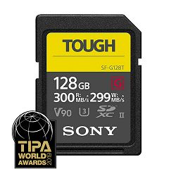 SONY Memorijska kartica SF-G1TG (SFG1T) 128GB 300MB/s SDXC UHS-II TOUGH SD Card