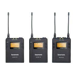 Saramonic mikrofon UwMic9 (TX9+TX9+RX9) (2x lavalier) UHF Wireless