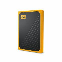 WD SSD WDBMCG0010BYT-WESN My Passport Go 1TB Black w/ Amber trim