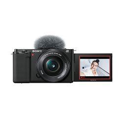 SONY Digitalni fotoaparat Alpha ZV-E10 + E PZ 16-50mm f/3.5-5.6