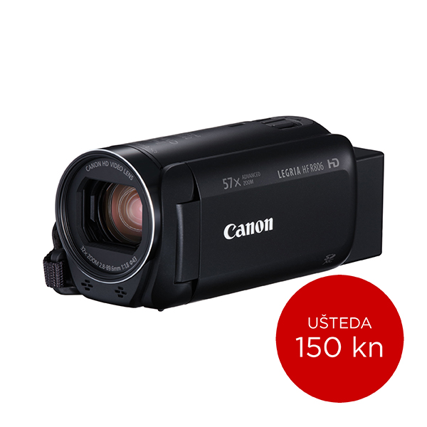 Canon Digitalna videokamera HFR806 BLACK