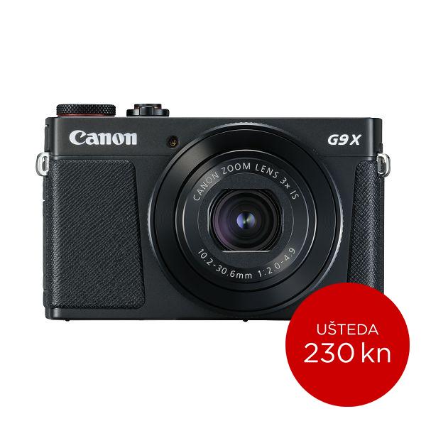 Canon Digitalni fotoaparat Powershot G9X II BK