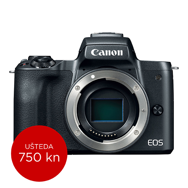 Canon Mirrorless Camera EOS M50 BK BODY SEE