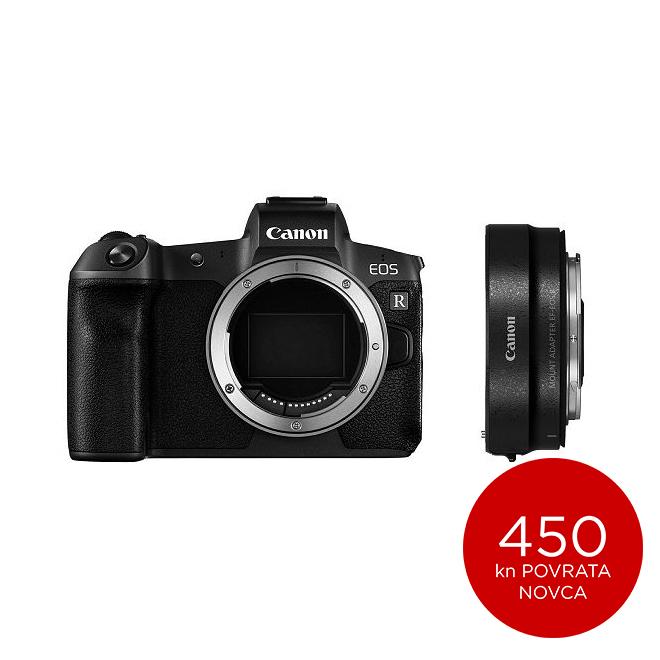 Canon Mirrorless Camera EOS RP Body + Mount Adapter EF-RF