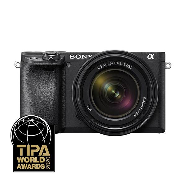 SONY Digitalni fotoaparat Alpha a6400 kit SEL18135 F3.5-5.6 OSS Lens