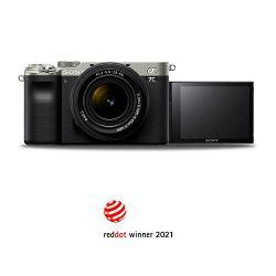 SONY Mirrorless Camera Alpha a7C + FE 28-60mm f/4-6.3 (Silver)
